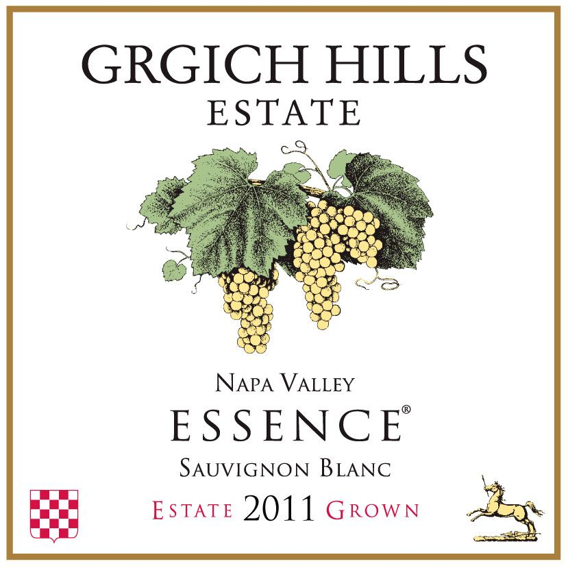 Grgich Hills Estate Essence Sauvignon Blanc 2011 Front Label