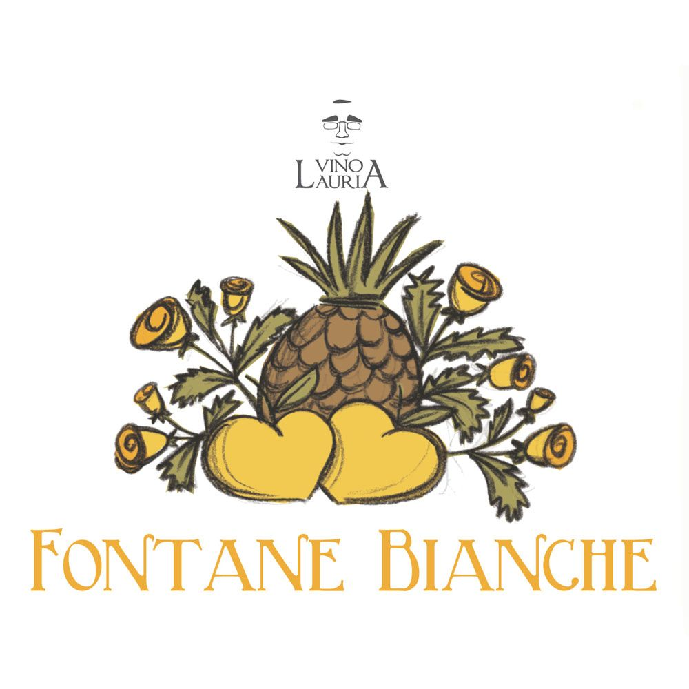 Vino Lauria Fontane Bianche 2015 Front Label