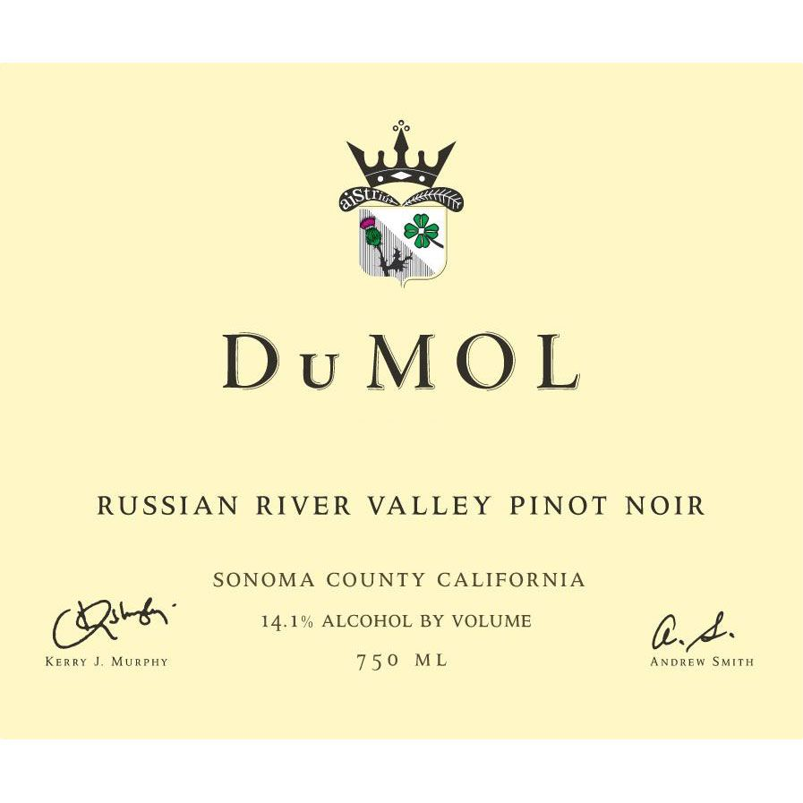 DuMOL Russian River Valley Pinot Noir 2014 Front Label