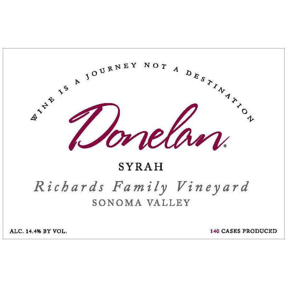 Donelan Richards Family Vineyard Syrah (scuffed labels) 2007 Front Label