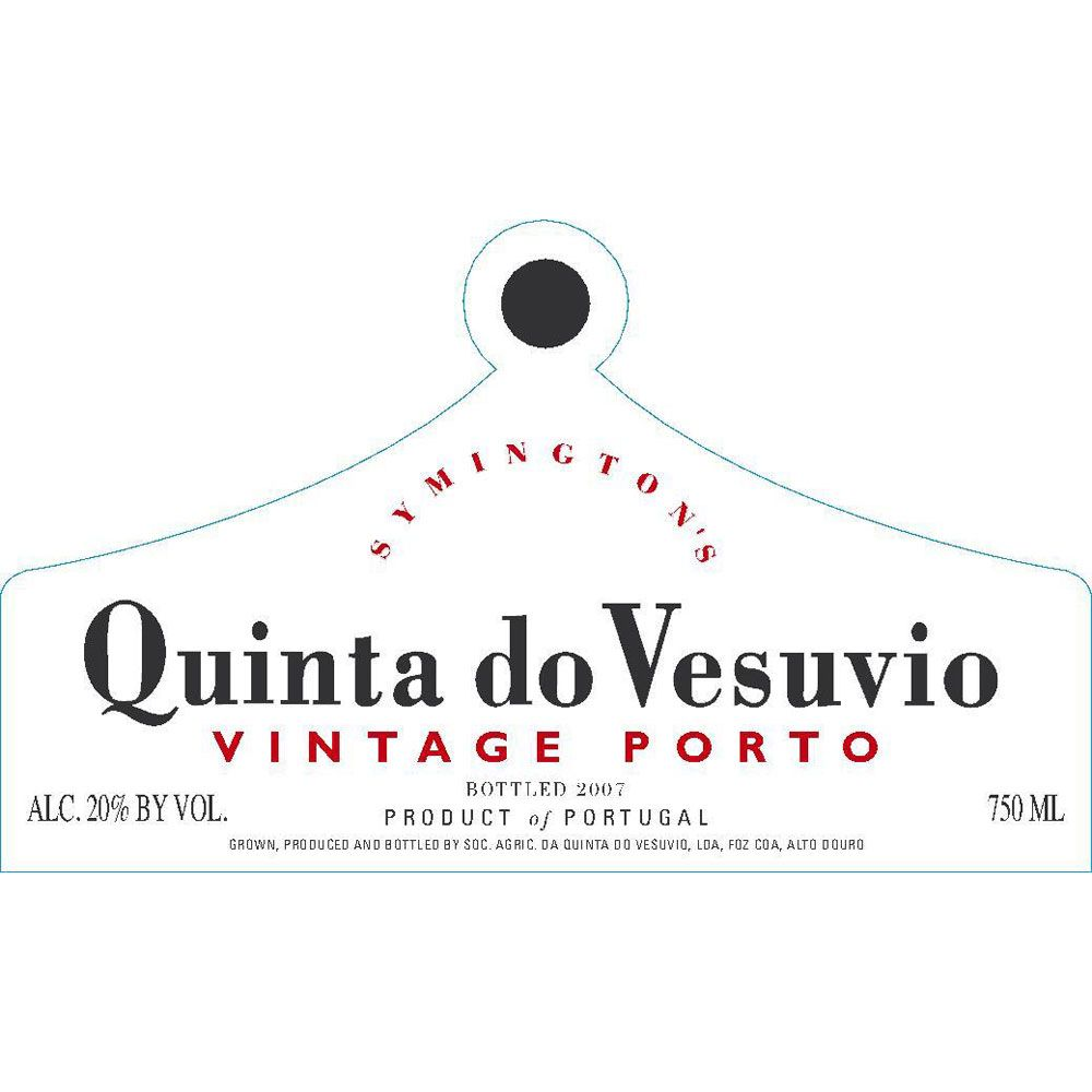 Quinta do Vesuvio Vintage Port 2001 Front Label