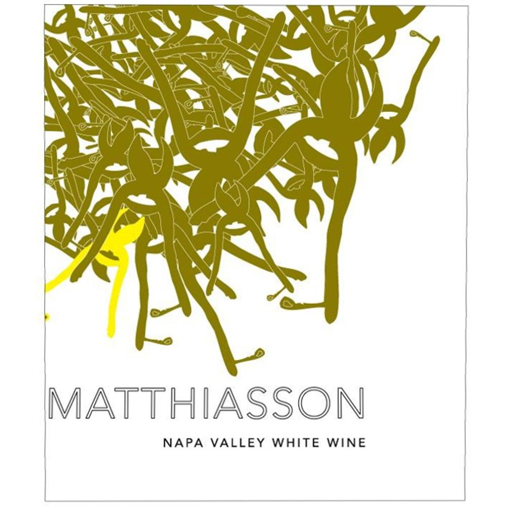 Matthiasson Napa Valley White 2014 Front Label
