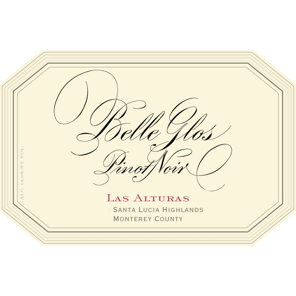 Belle Glos Las Alturas Vineyard Pinot Noir 2015 Front Label