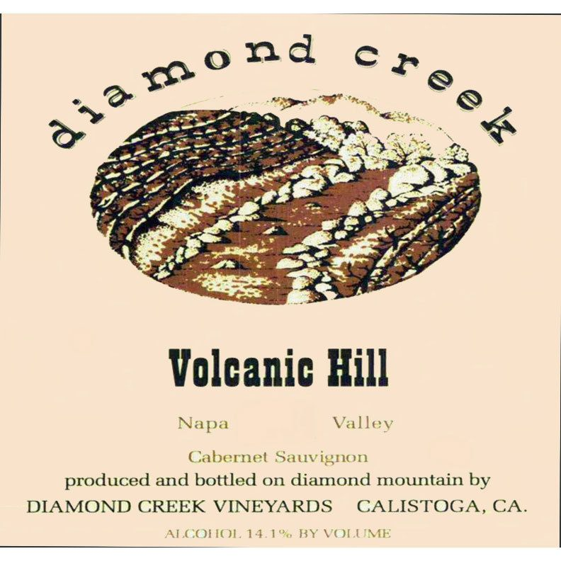 Diamond Creek Volcanic Hill Cabernet Sauvignon 2014 Front Label