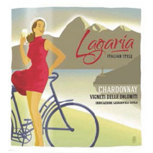 Lagaria Chardonnay 2015 Front Label