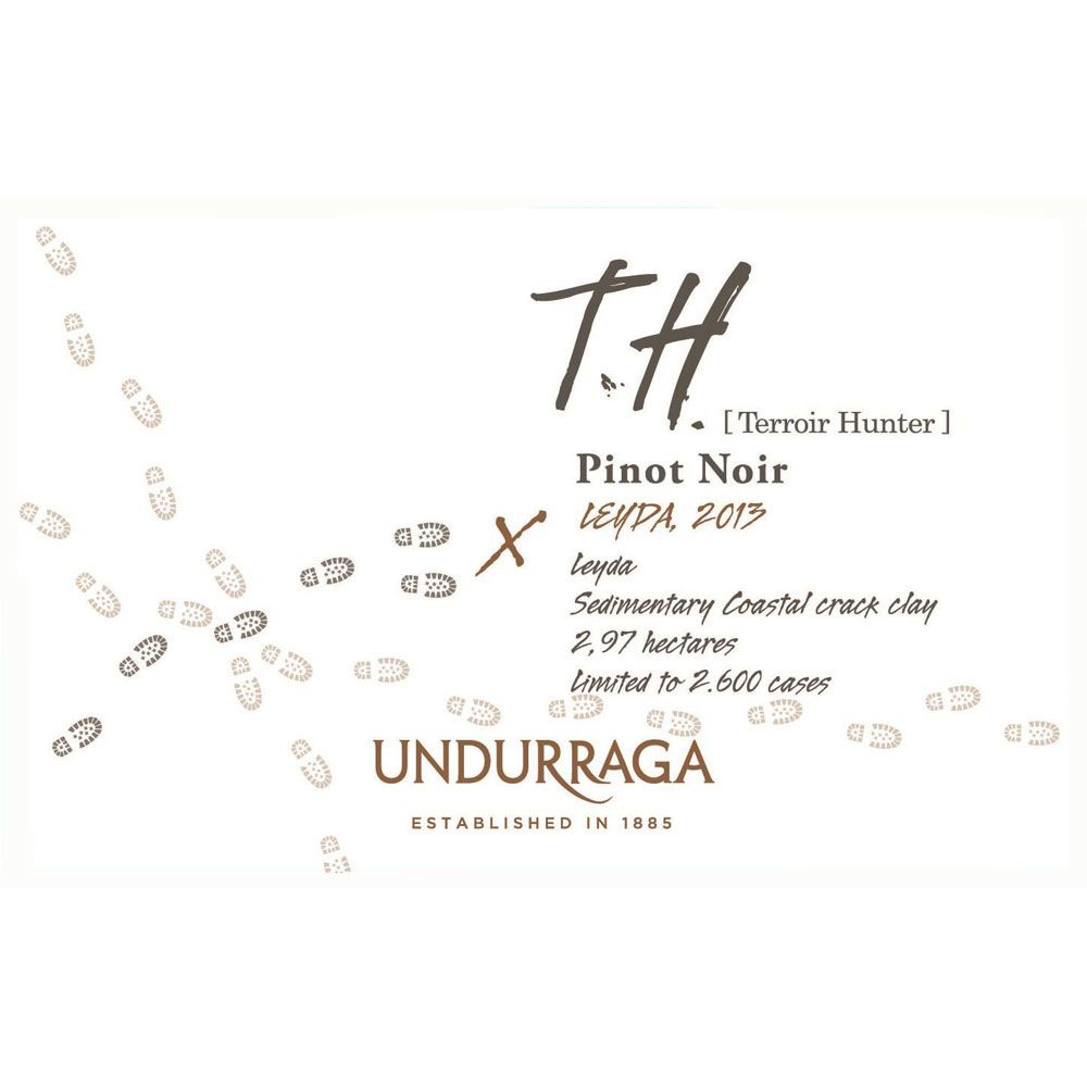 Undurraga Terroir Hunter Pinot Noir 2013 Front Label