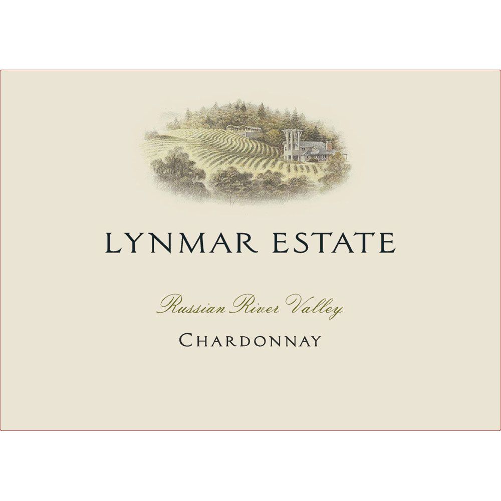 Lynmar Winery Russian River Chardonnay 2013 Front Label