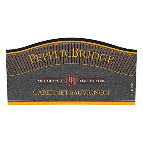 Pepper Bridge Winery Cabernet Sauvignon 2012 Front Label