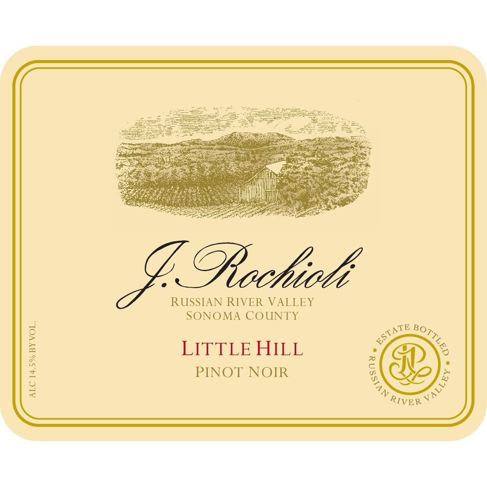 Rochioli Little Hill Pinot Noir 2014 Front Label