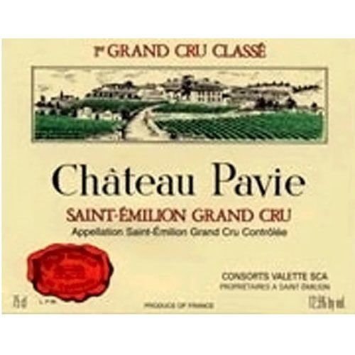 Chateau Pavie (1.5 Liter Magnum) 2015 Front Label