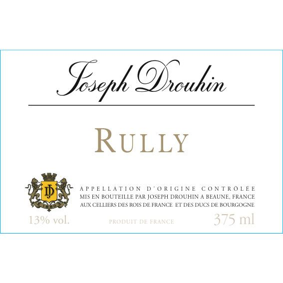 Joseph Drouhin Rully Blanc 2014 Front Label