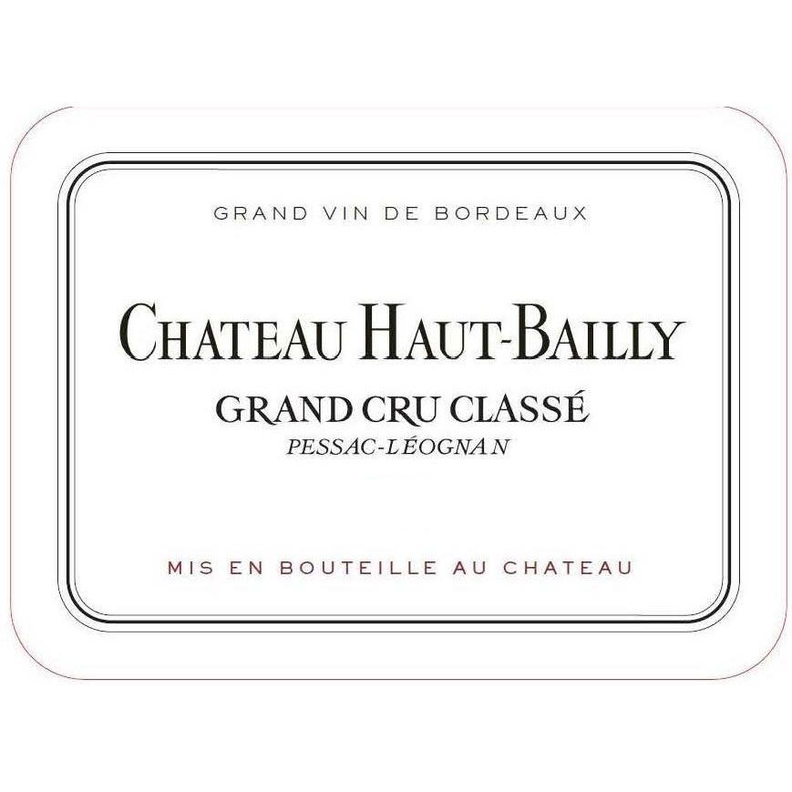 Chateau Haut-Bailly (1.5 Liter Magnum) 2015 Front Label