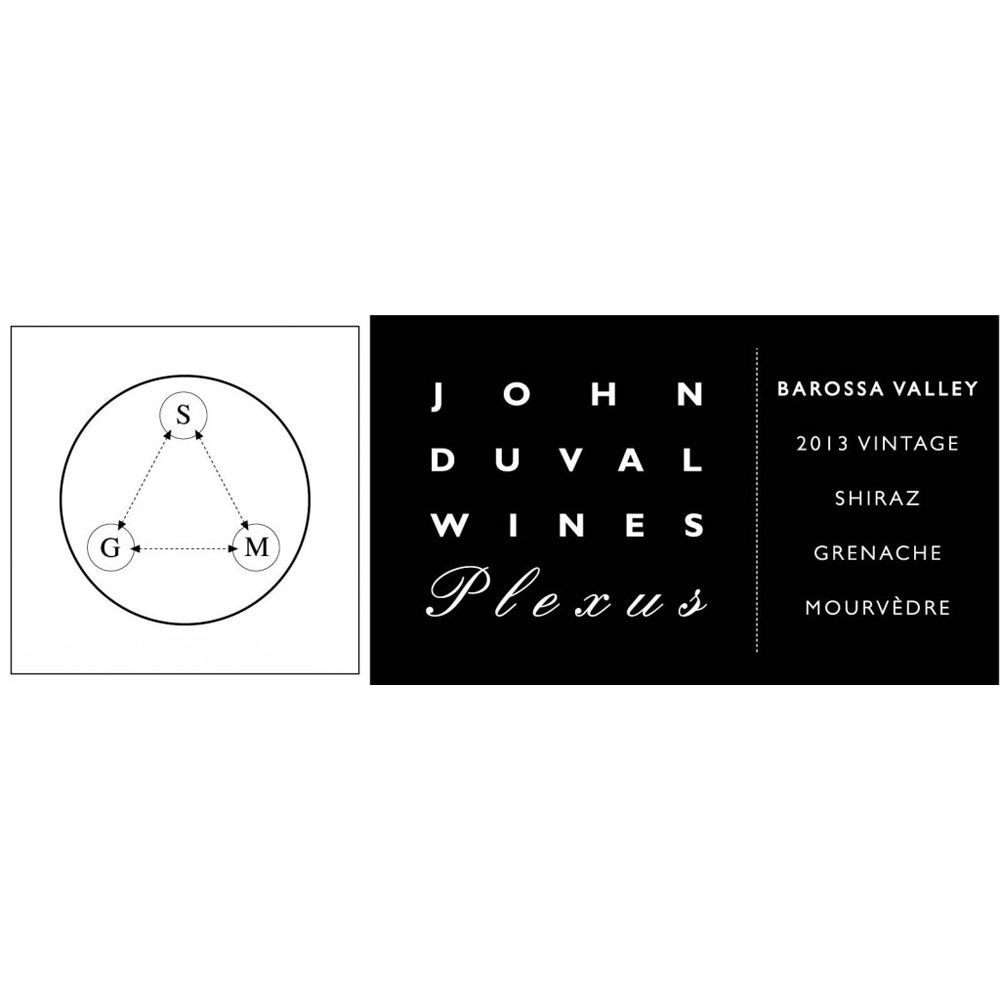 John Duval Plexus Red 2013 Front Label