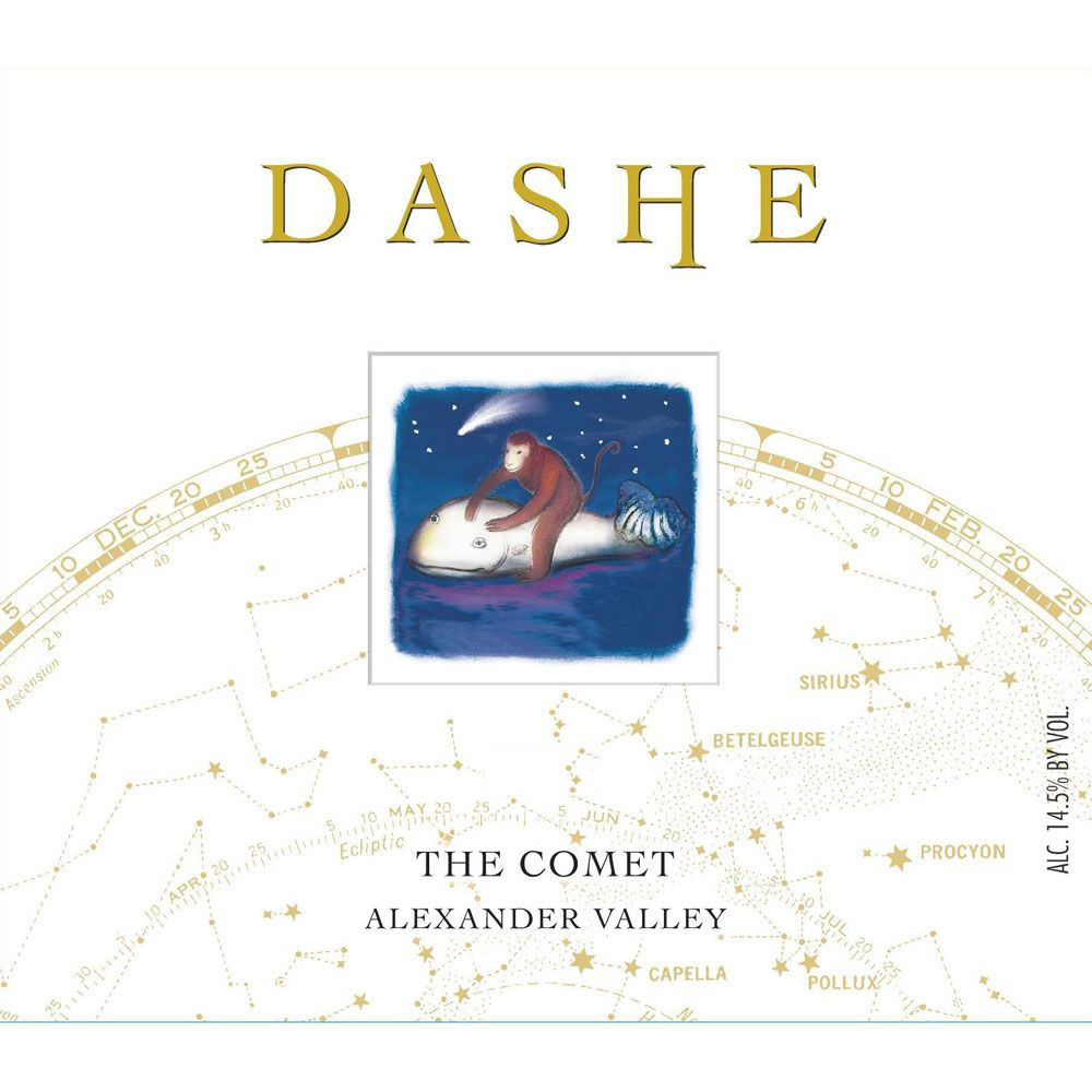 Dashe The Comet Red Blend 2013 Front Label