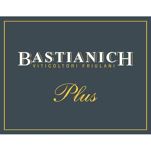Bastianich Plus 2011 Front Label
