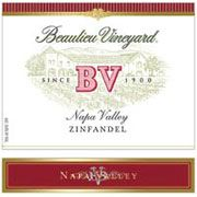 Beaulieu Vineyard Napa Zinfandel 1995 Front Label