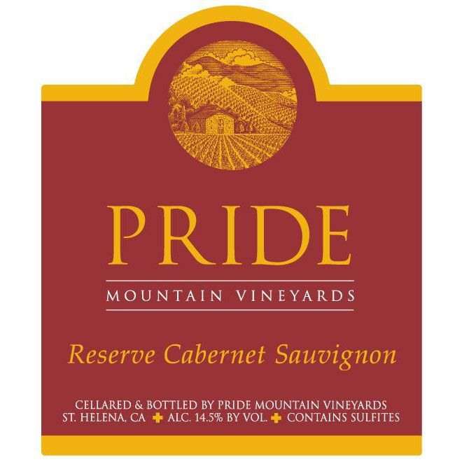 Pride Mountain Vineyards Reserve Cabernet Sauvignon (1.5 Liter Magnum) 2006 Front Label