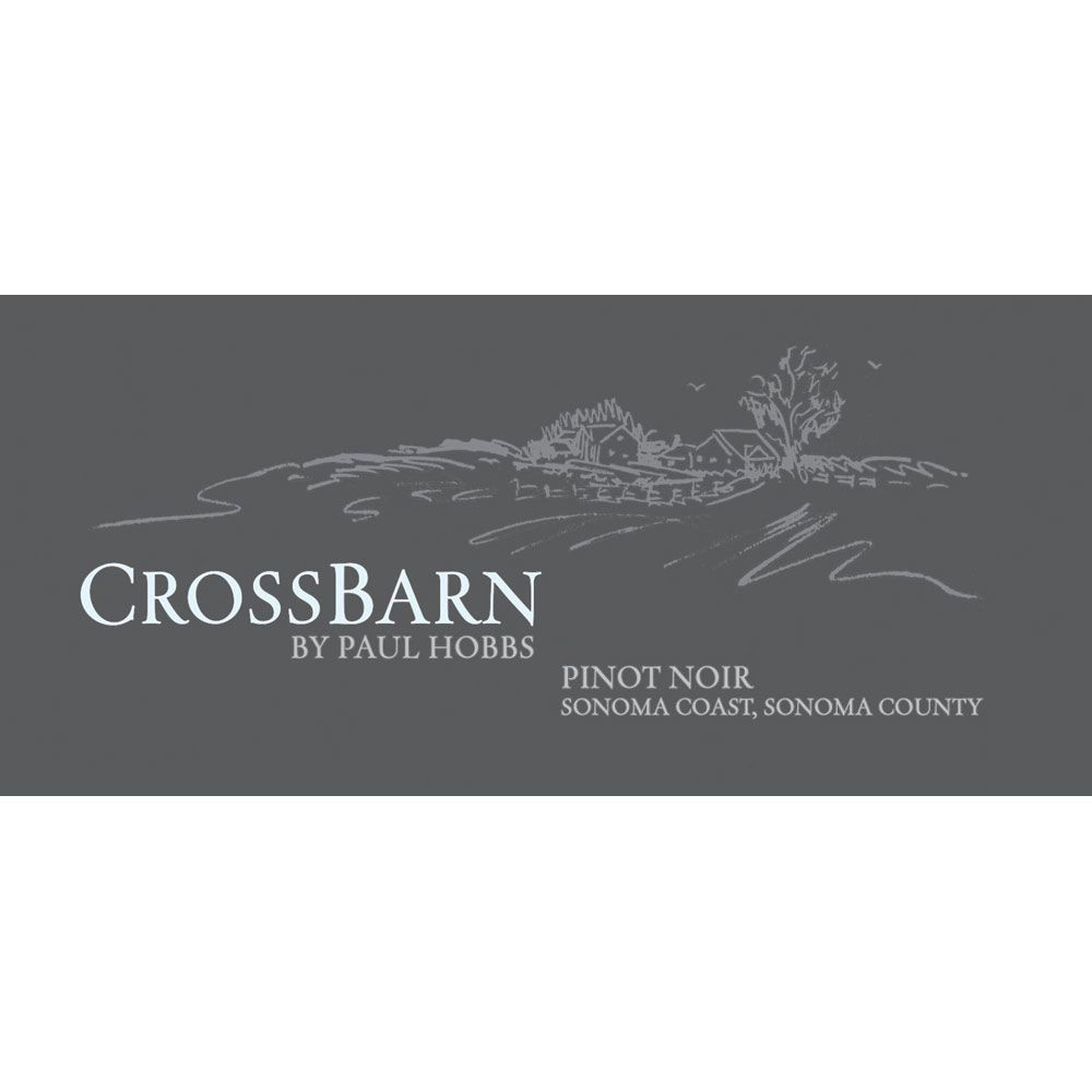 Crossbarn by Paul Hobbs Sonoma Coast Pinot Noir 2014 Front Label
