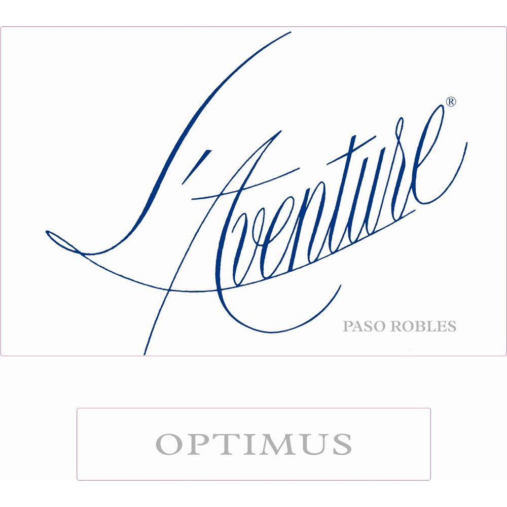 L'Aventure Optimus 2001 Front Label
