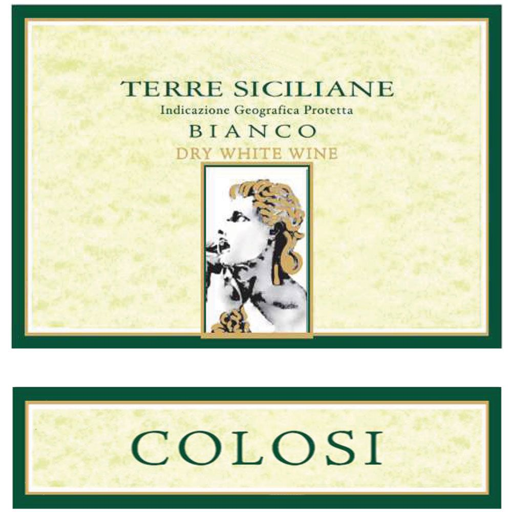 Colosi Bianco 2014 Front Label