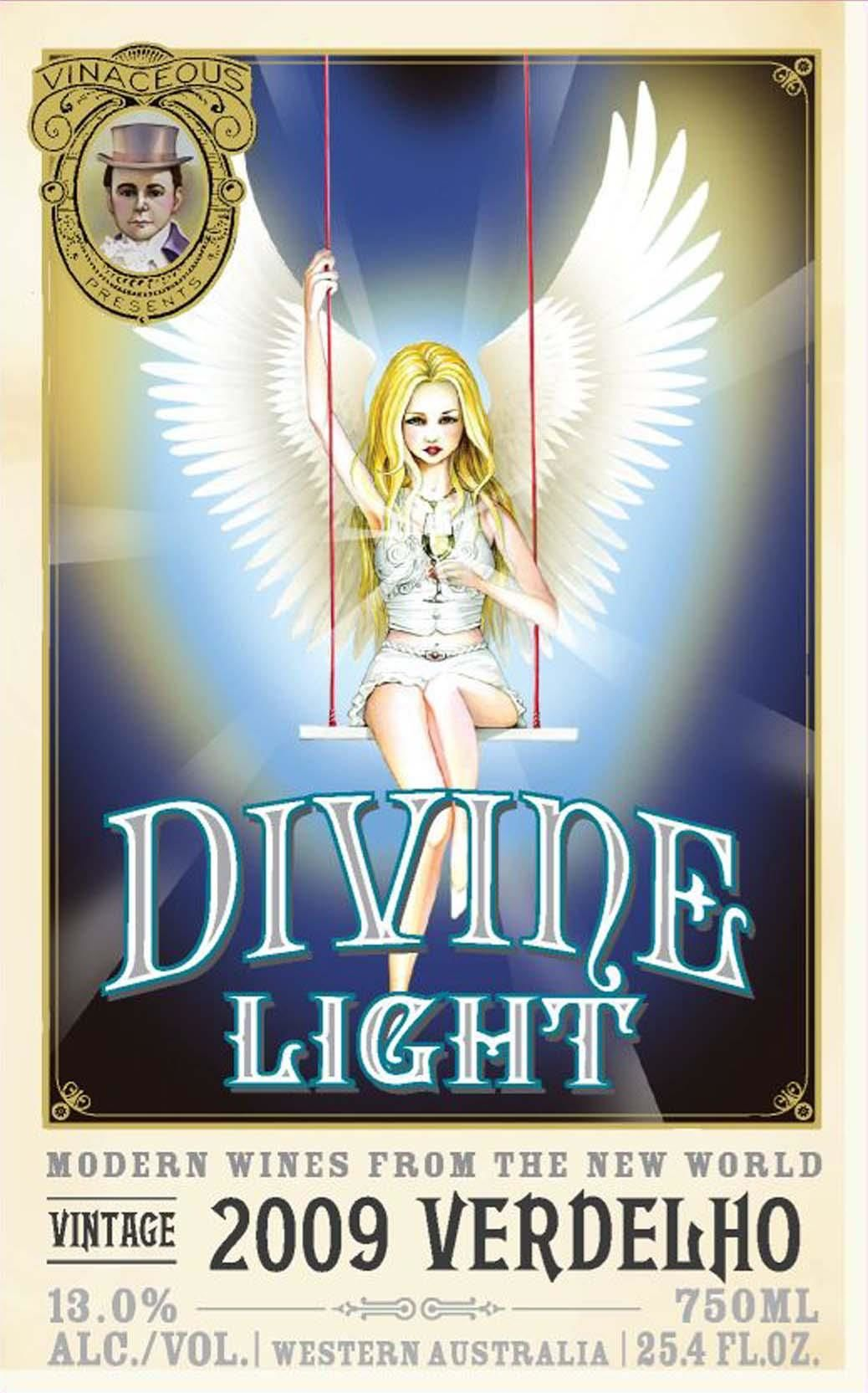 Vinaceous Divine Light Verdelho 2009 Front Label
