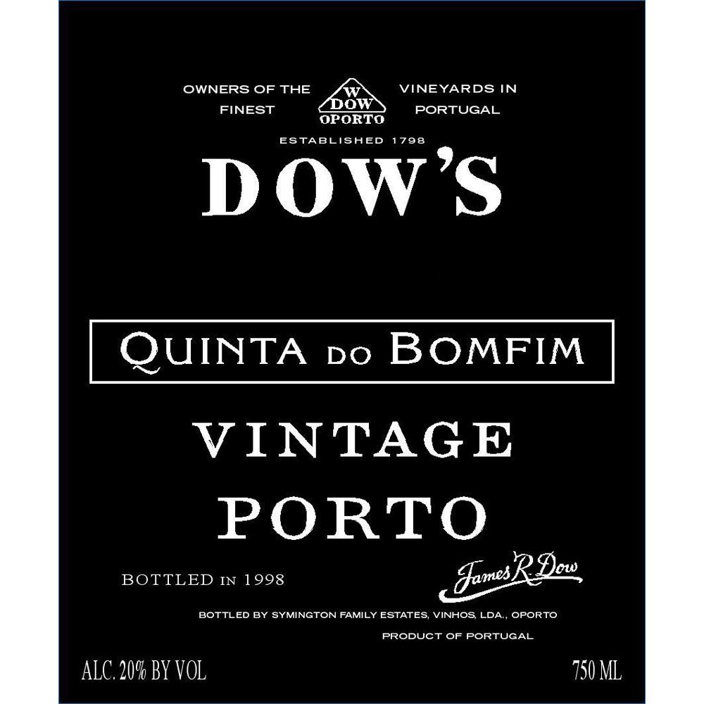 Dow's Quinta do Bomfim 2004 Front Label