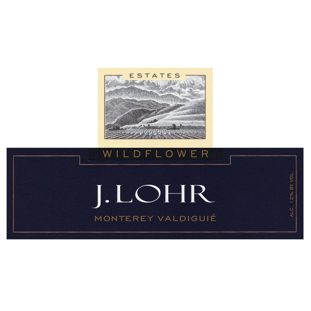 J. Lohr Wildflower Valdiguie 2015 Front Label