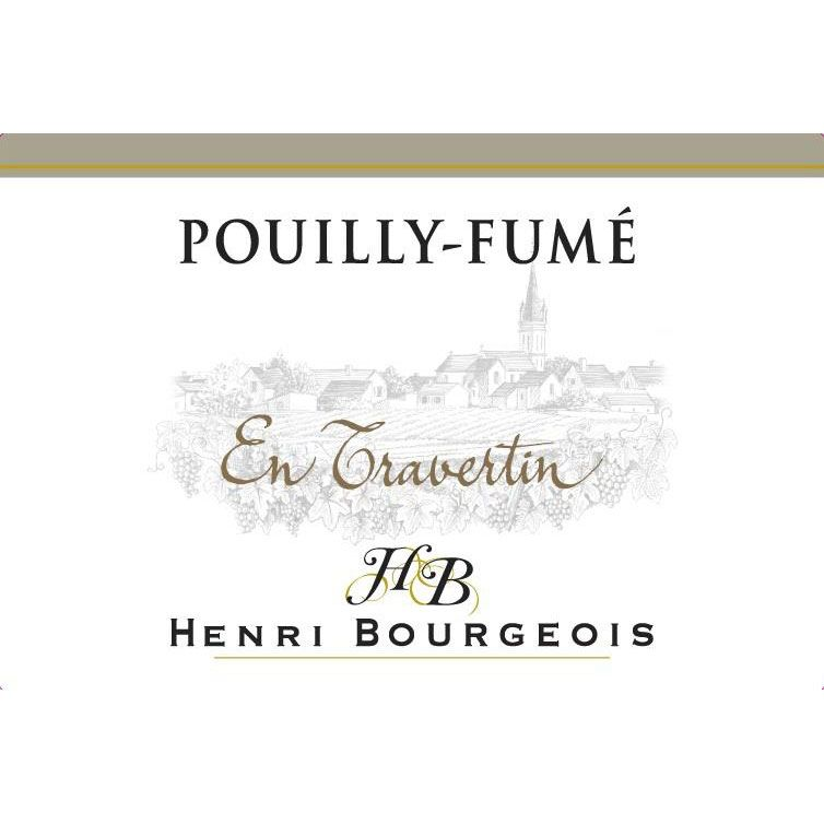 Henri Bourgeois Pouilly Fume En Travertin 2015 Front Label