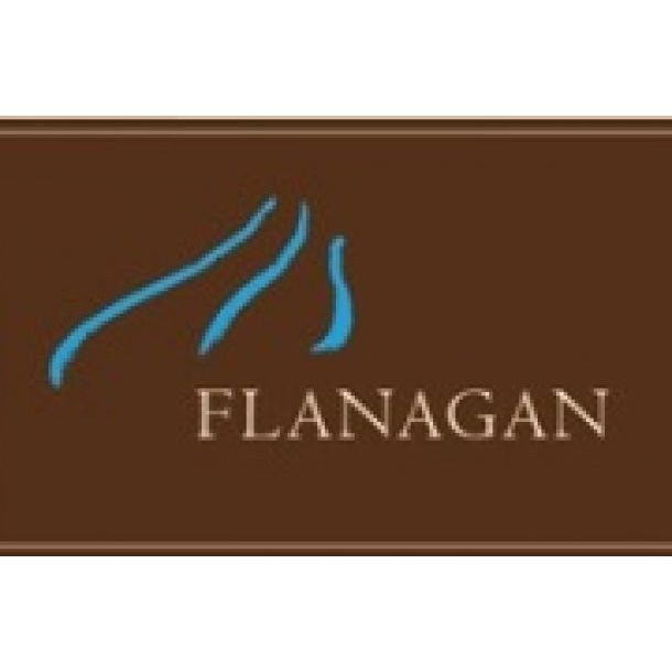 Flanagan Merlot 2013 Front Label