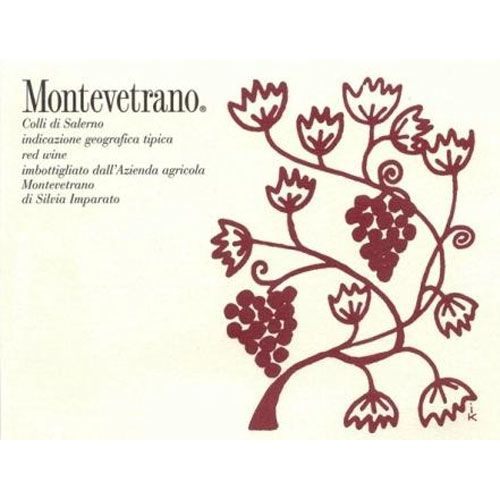 Montevetrano Colli di Salerno 1997 Front Label