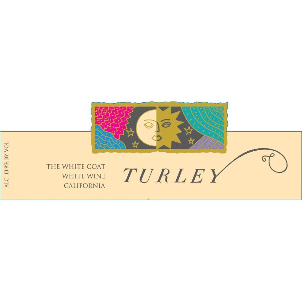 Turley The White Coat White Blend 2014 Front Label