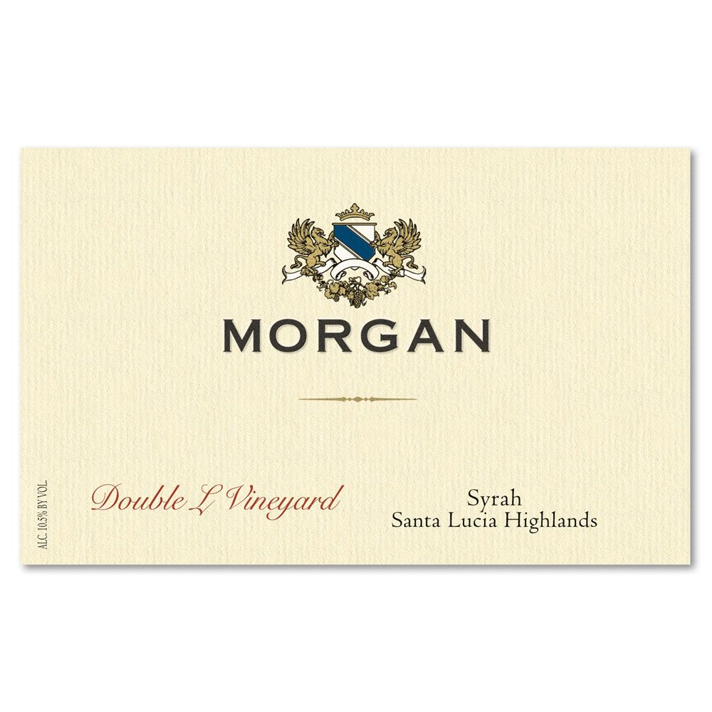 Morgan Double L Vineyard Syrah 2014 Front Label