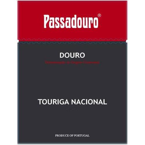 Quinta do Passadouro Touriga Nacional 2012 Front Label