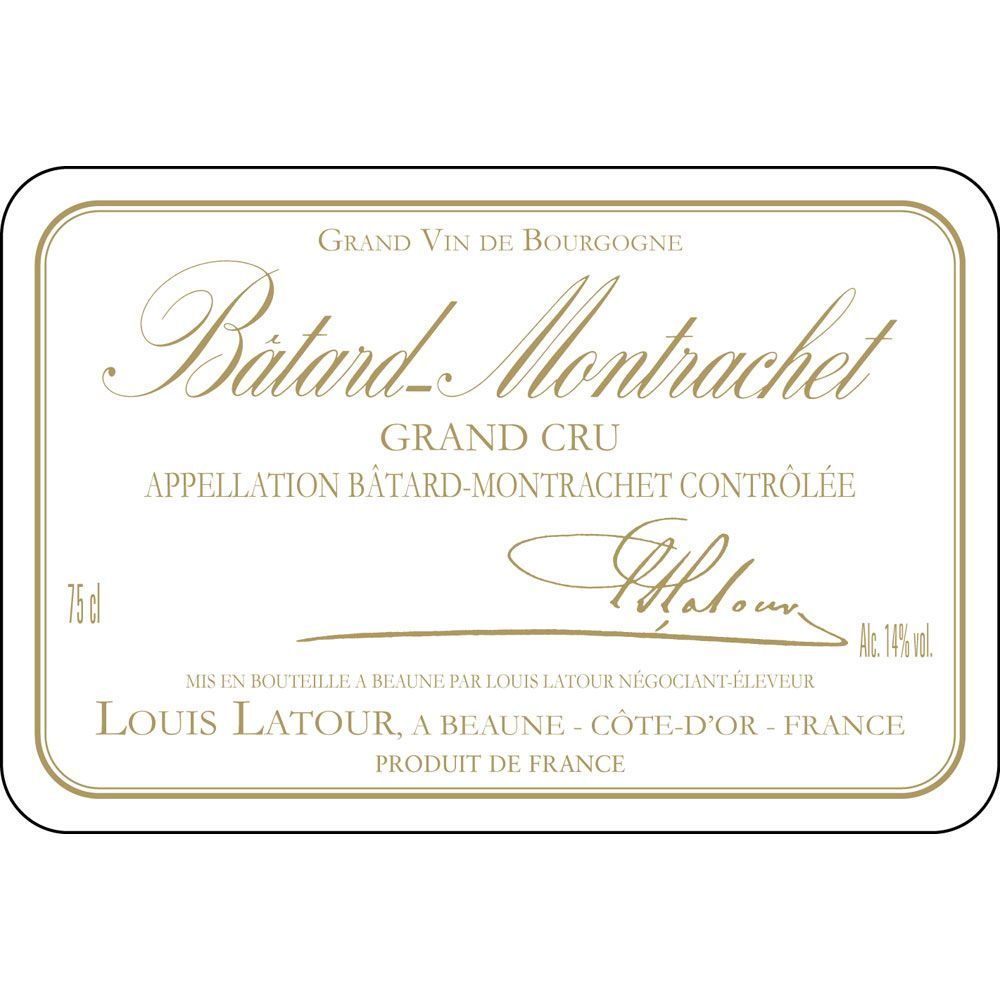 Louis Latour Batard Montrachet Grand Cru 2011 Front Label
