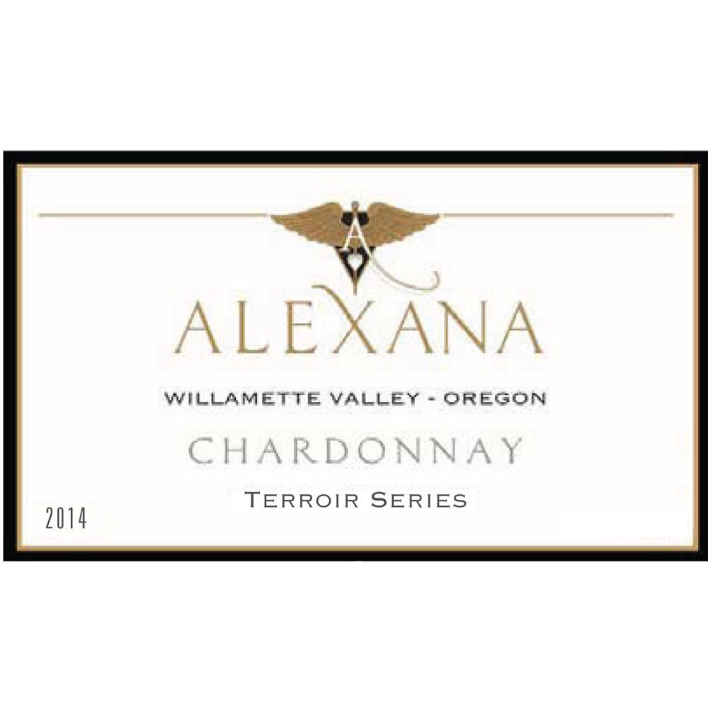 Alexana Terroir Series Chardonnay 2014 Front Label
