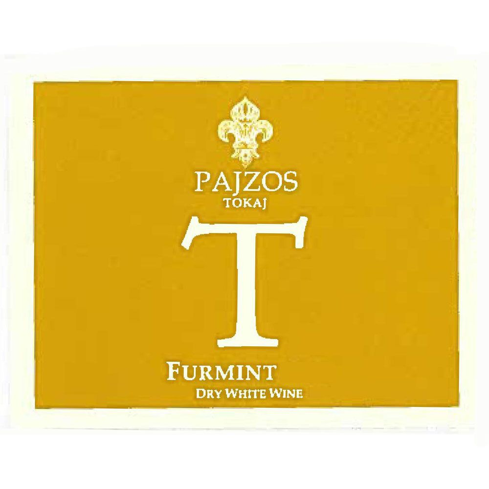 Chateau Pajzos Dry Furmint (500 ML) 2015 Front Label