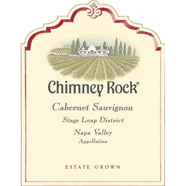 Chimney Rock Stags Leap District Cabernet Sauvignon (3 Liter) 2012 Front Label