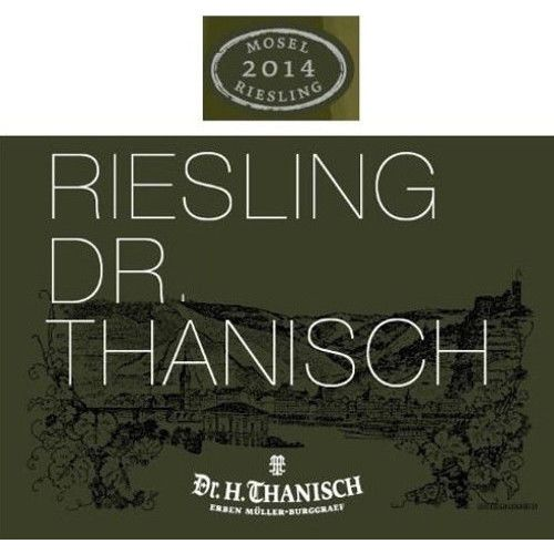 Dr. Thanisch Estate Riesling QbA 2014 Front Label