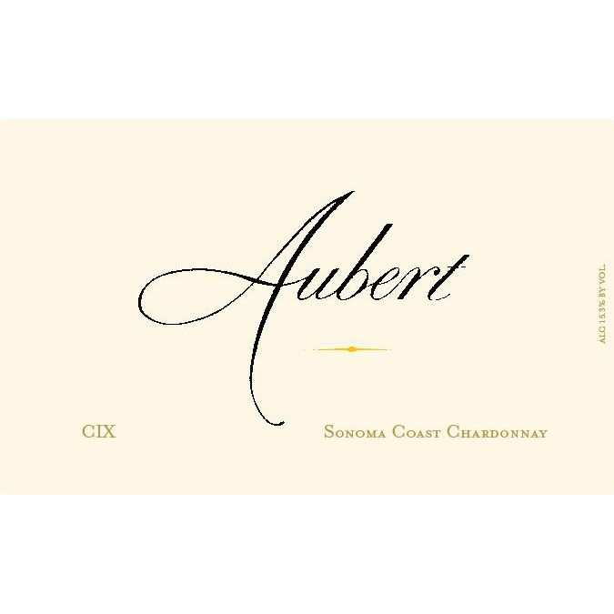 Aubert CIX Vineyard Pinot Noir 2014 Front Label