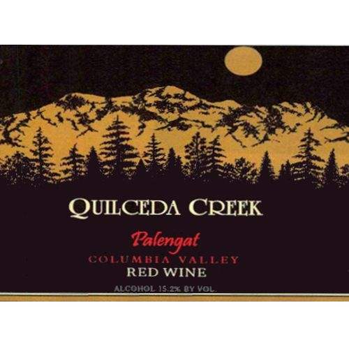 Quilceda Creek Palengat Proprietary Red Blend 2013 Front Label