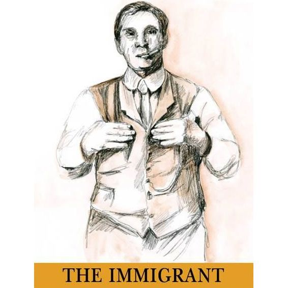 Donati Family Vineyards The Immigrant 2013 Front Label