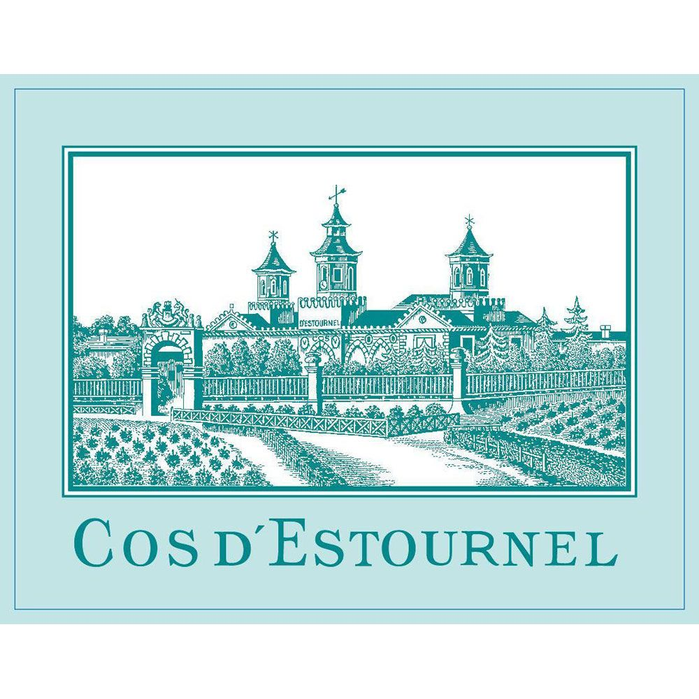 Chateau Cos d'Estournel Blanc 2011 Front Label