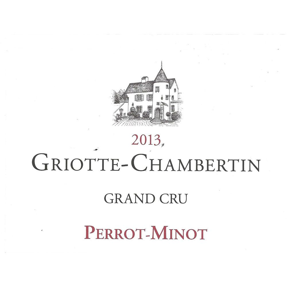 Domaine Perrot-Minot Griotte-Chambertin Grand Cru 2013 Front Label
