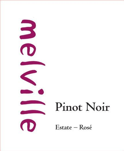Melville Pinot Noir Rose 2014 Front Label