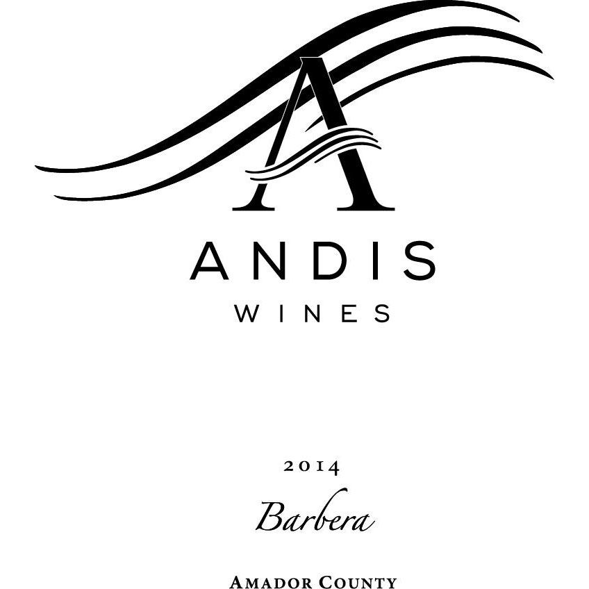 Andis Barbera 2014 Front Label
