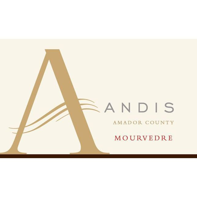 Andis Mourvedre 2012 Front Label