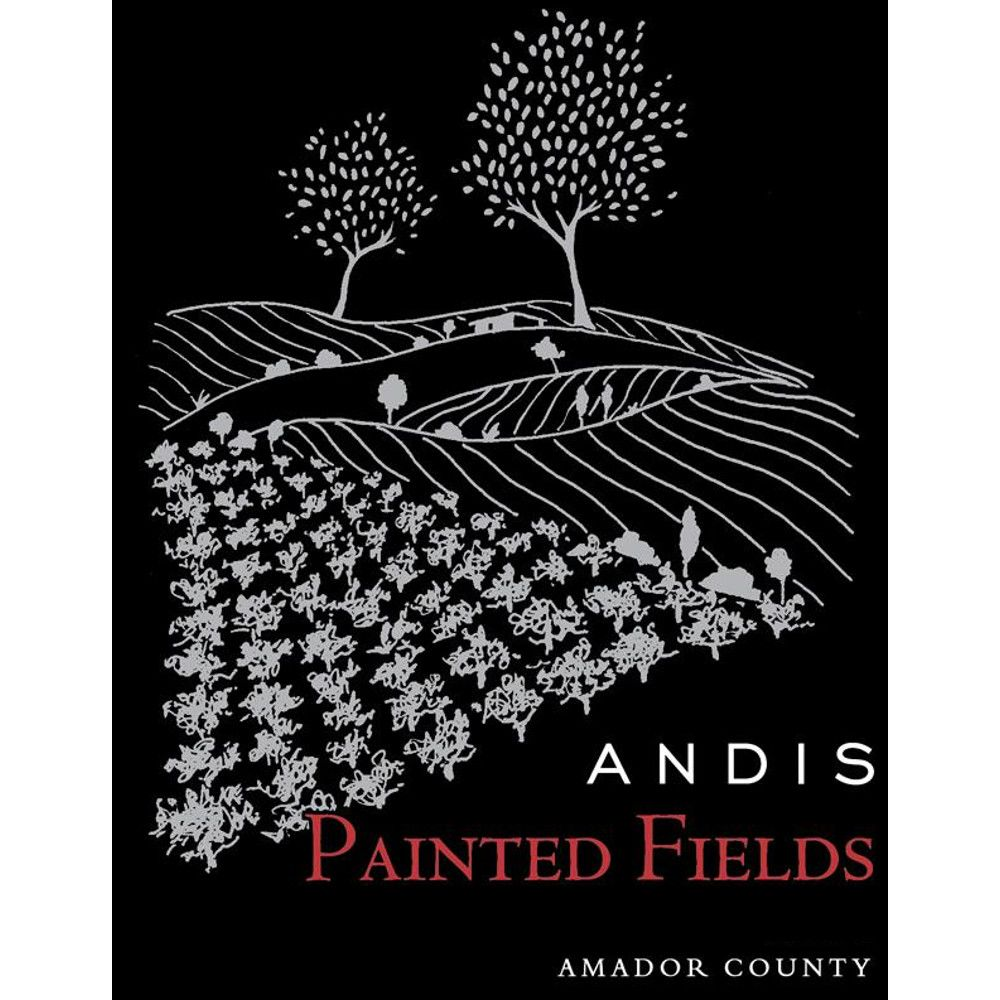 Andis Painted Fields Red Blend 2012 Front Label