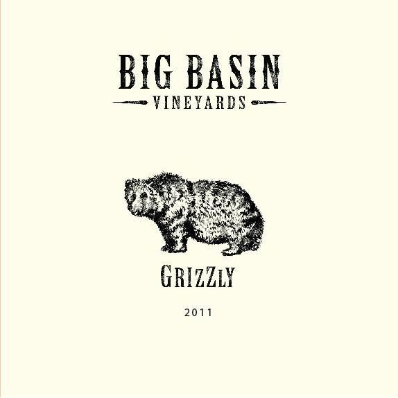 Big Basin Grizzly Red Blend 2011 Front Label