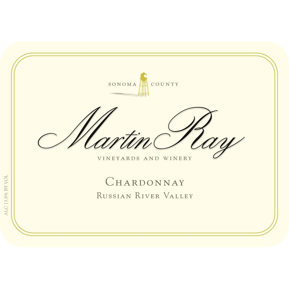 Martin Ray Russian River Valley Chardonnay (375ML half-bottle) 2015 Front Label