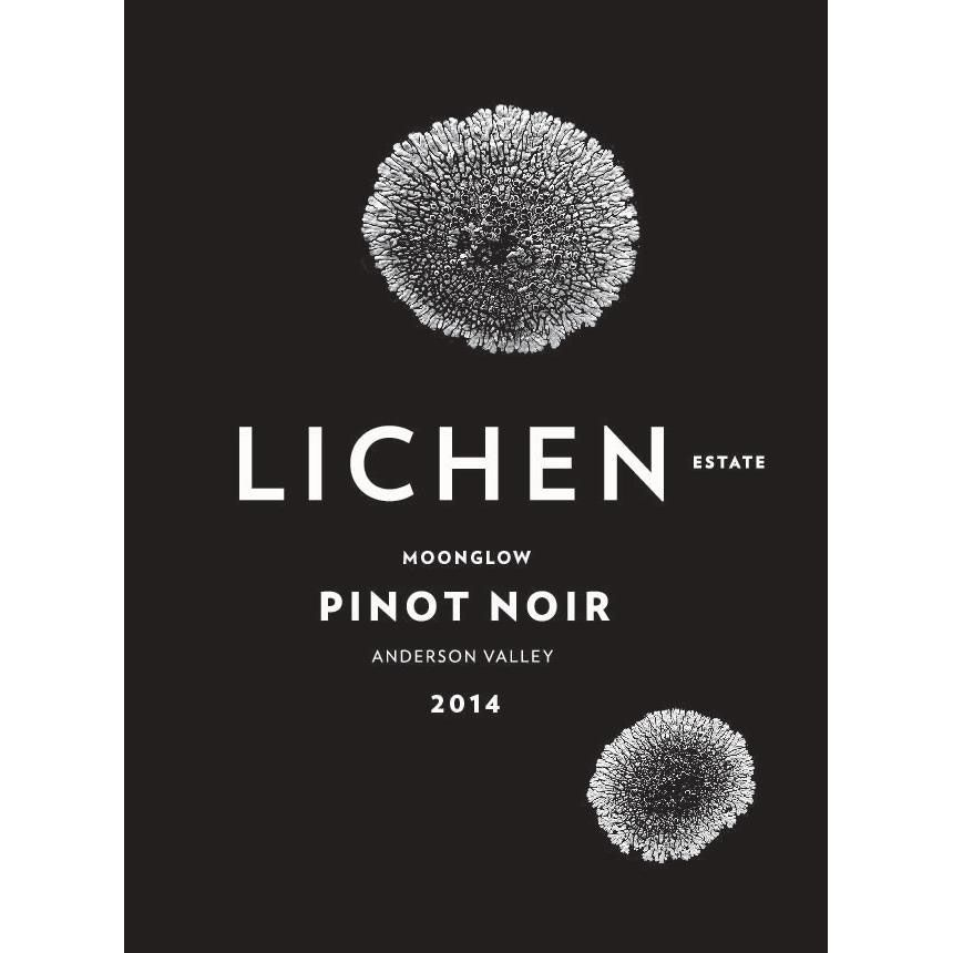 Lichen Moonglow Pinot Noir 2014 Front Label